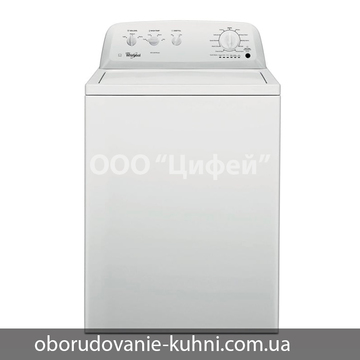 Профессиональная стиральная машина Whirlpool 3LWTW4705FW 15 кг с вертикальной загрузкой