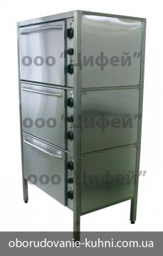 Шкаф жарочный трехсекционный ШЖЭ-3С-GN2/1