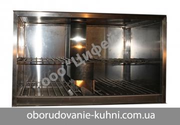 Тепловой шкаф для угольной печи с водяным фильтром