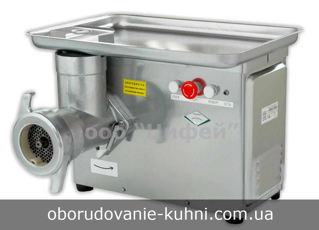 Мясорубка электрическая промышленная МИМ-600М полный унгер ТоргМаш Беларусь