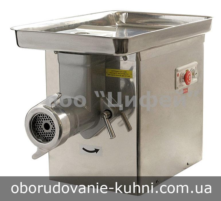 Мясорубка промышленная для кухни ресторана, столовой, мясного цеха, пищевого производства