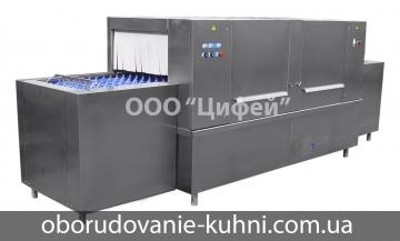 Машина промышленная посудомоечная ММУ-1000М непрерывного действия ТоргМаш Гродно
