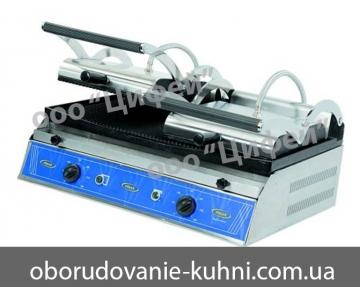 Контактный гриль 2-х постовой электрический Pimak