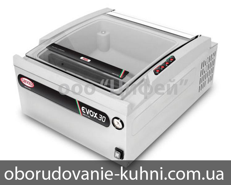 Промышленный вакуумный упаковщик Orved Evox 30 Размеры камеры 355х365х184